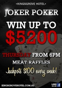 Kingsgrove Hotel_Joker-Poker